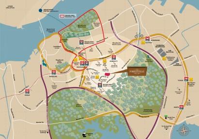 Forestville - Location Map 2